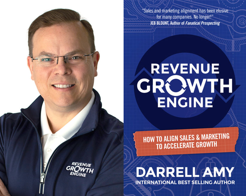 """The Marketing Book Podcast: """"Revenue Growth Engine"""" by Darrell Amy"""